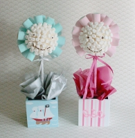 New Baby marshmallow sweet trees