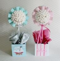 New Baby marshmallow sweet trees